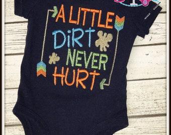 A Little Dirt Never Hurt--All Boy Shirt/Bodysuit