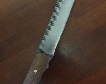 Heavy Duty Chopper Style Bushcraft Knife
