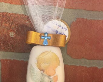 Angel Decorated Soap/Baptism favors