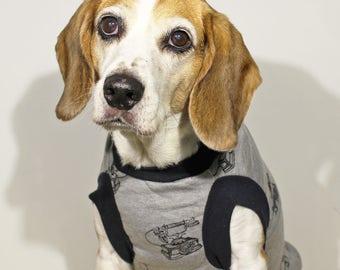 Hello This Is Dog! - Dog Hoodie / Dog Jacket / Fleece Jacket /  Print