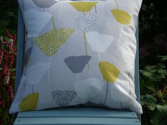 John Lewis 'Elin' Cushion Cover Citrine