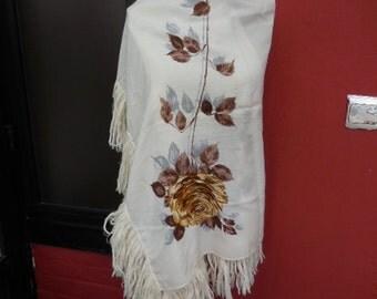 Vintage shawl or wrap