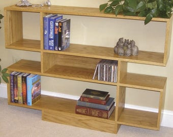 Open Style Bookcase Woodworking Plans