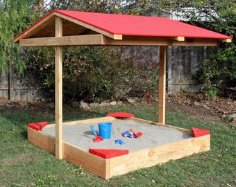 Covered Sandbox Woodworking Plans