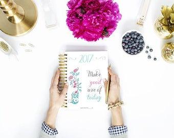 30% off - 2017 Blogger Planner Bundle - Calendar Blog Planner - Organized Blogging - Instant Download - Printable PDF