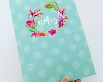 Notebook - BLUE SPOTS