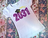 Class of 2031 Appliqué embroidery Design - graduation appliqué design - school appliqué design