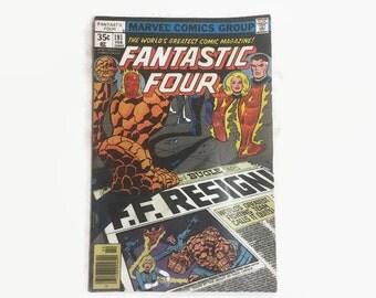 Marvel Comics Fantastic Four No. 191 Vintage Comic Book