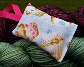 Cupcakes Lavender Sachet Handmade