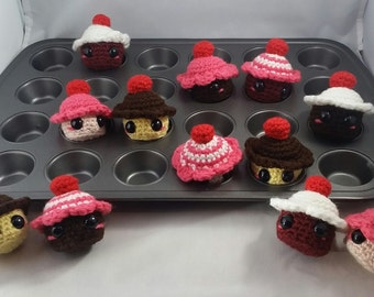 Amy-gurumi Mini Cupcake