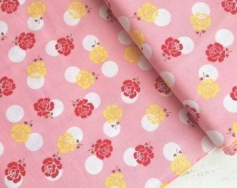 Sew Cherry 2 - Sew 2 Rose(Pink) - Lori Holt - Riley Blake Designs