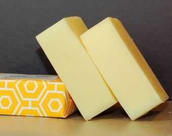 Sweet Meyer Lemon, Cold Process Soap, Vegan Soap