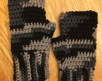 Crochet Fingerless Gloves Reasy to Ship