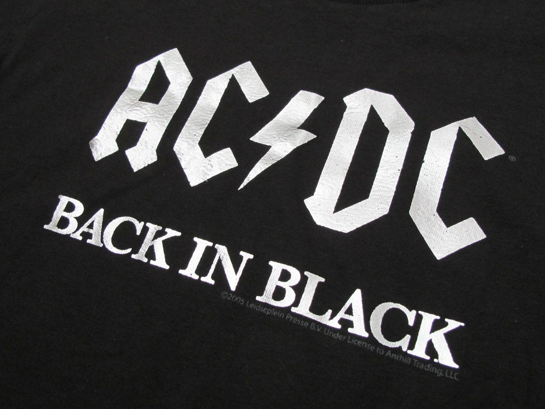 Back in black t shirt - Back In Black T Shirt 40