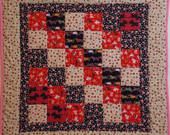 Doggy Modern Baby Quilt 10
