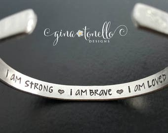 Cancer Gifts, Breast Cancer Bracelet, Ovarian Cancer Jewelry, Jewelry for a Cause, Inspirational Bracelet, Cause Ribbon, Awareness Ribbon