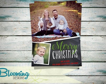 Family Christmas Holiday Photo Card