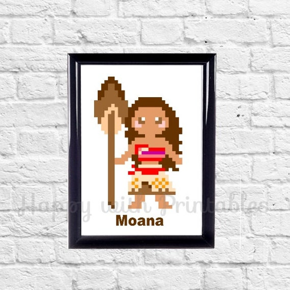 Moana Disney Princess Decor
