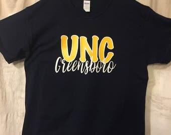 UNC Greensboro t-shirt