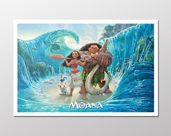 """Moana Poster (17""""wide x 11"""" tall)"""