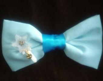 Fairy kei bow with detachable little wand