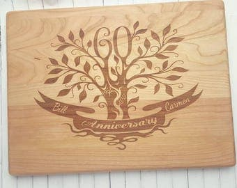60th Anniversary Gift, 60th wedding anniversary gift for Parents,