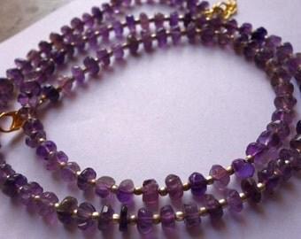24InchAmethystTrendy jewelry Necklace /Funky jewelry Necklace@DSC06969