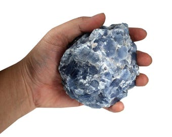 Blue Calcite By Weight - 1/2-1 lb or 1-2lbs - Chakra - Stones by pound - Wholesale stones