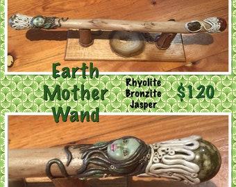 Crystal magic wand