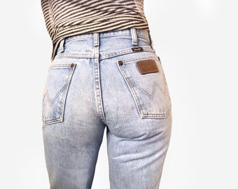 "Vintage Wrangler Jeans in 100% Cotton Denim 28"" Waist"