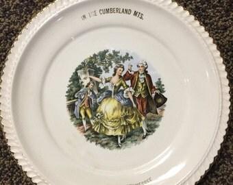 The Harker Pottery Company souvenir plate