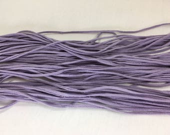 T-shirt Yarn, Lilac from Upcycled cotton T-shirt