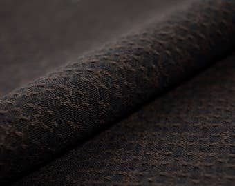 Taupe Fabric, Japanese Cotton, Quilting Fabric, Yarn dyed Fabric DY53015S-E