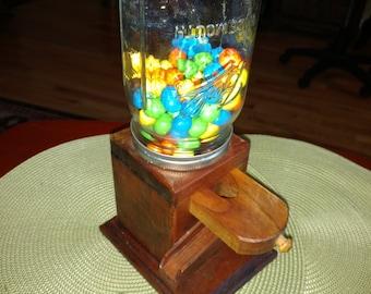 Hand Made Ball Mason Jar Candy Dispenser