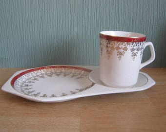 Vintage Beswick Tennis Set Tea cup with plate