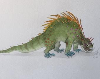 Monster *Original painting*