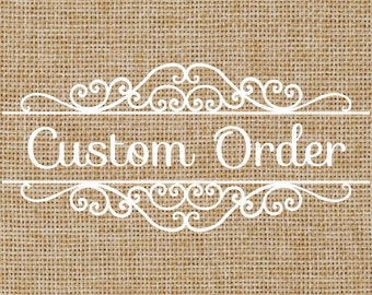Made to Order Burlap Banners