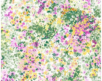 Garden Delights 3GSE-4 Pink by In The Beginning Cotton Fabric Yardage