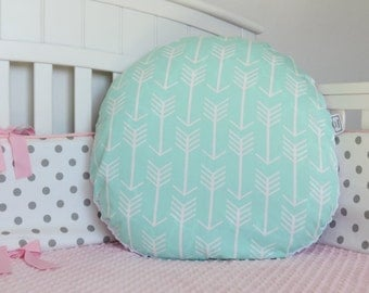 Arrow and Minky Boppy Lounger Cover - Boppy Lounger Pillow Cover, Nursing Pillow