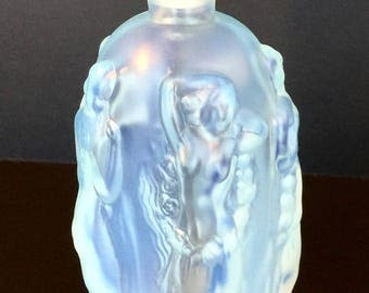 Sabino Glass Opalescent Art Glass France Perfume Scent Bottle