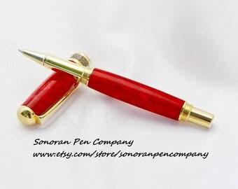 New Design Scarlet Crush Rollerball pen
