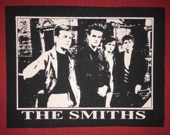 The Smiths Cloth Punk Patch