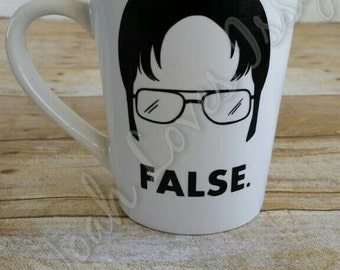 SECONDS SALE! Coffee/Tea Mug ~ Dwight The Office ~ 14 oz.