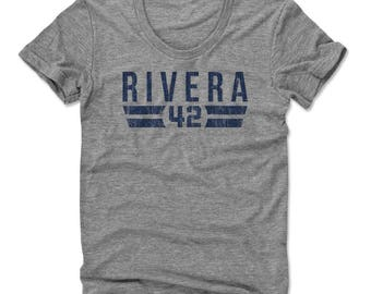 Mariano Rivera Font B New York Officially Licensed Women's Scoop Neck T-Shirt S-XL
