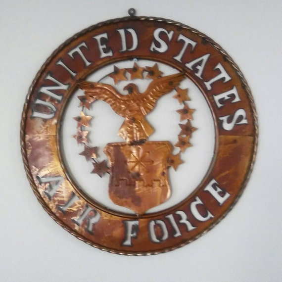 Sale air force metal decor for Decor 6 air force