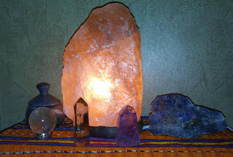 Himalayan Salt Lamp Size Per Room : Himalayan pink salt lamp multiple sizes available