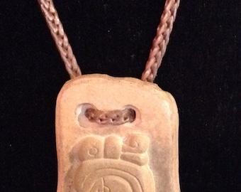 Mayan Hieroglyphic Pendant