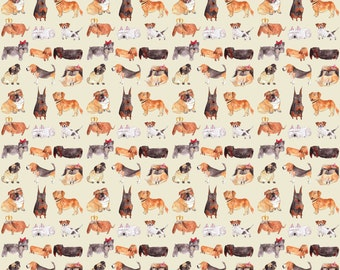 Doggy Dog Wrapping Paper