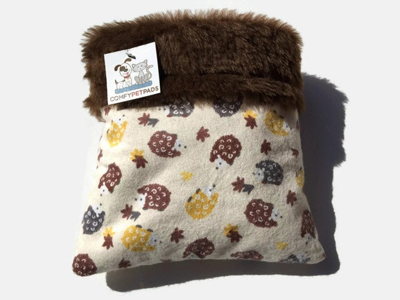 Hedgehog Snuggle Sack, Bonding Bag, Cage Accessories, Nap Pouch, Guinea Pig Small Animal Bed, Hamster Bedding, Chinchilla Cave, Cuddle Bag