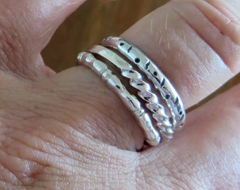 Stacking rings.
